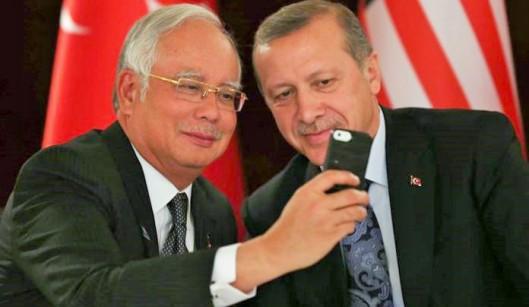 Najib-Erdogan