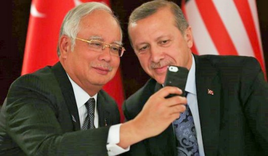 Image result for Najib and Erdogan