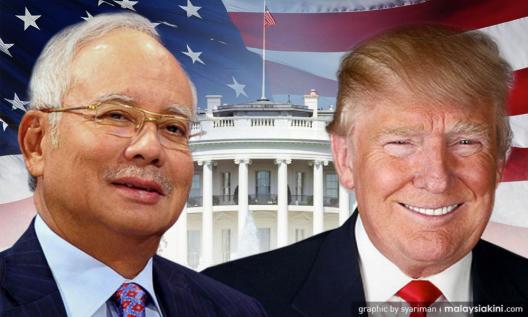 Najib trump
